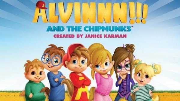 Alvin!!! A Chipmunkové