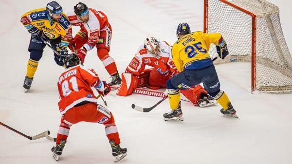 Hokej: HC Olomouc - PSG Berani Zlín