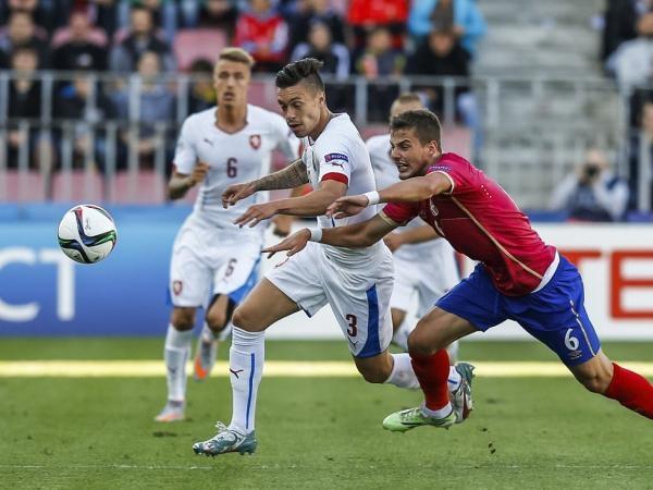 Fotbal: Belgie - Česko