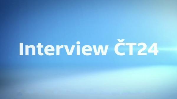 Interview ČT24 Speciál