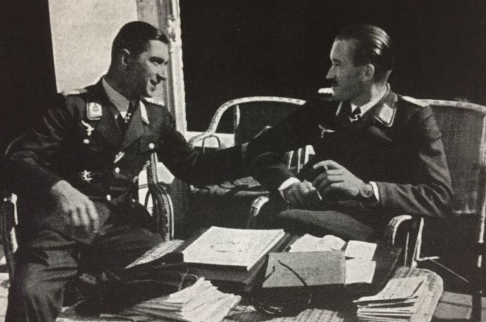 Dokument Stíhací esa Luftwaffe