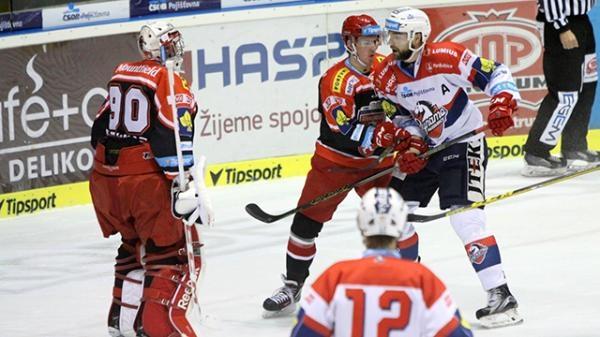 Hokej: Mountfield HK - HC Dynamo Pardubice