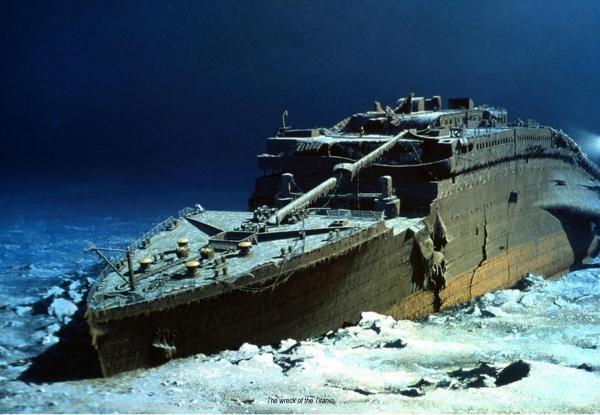Titanic - unutar olupine